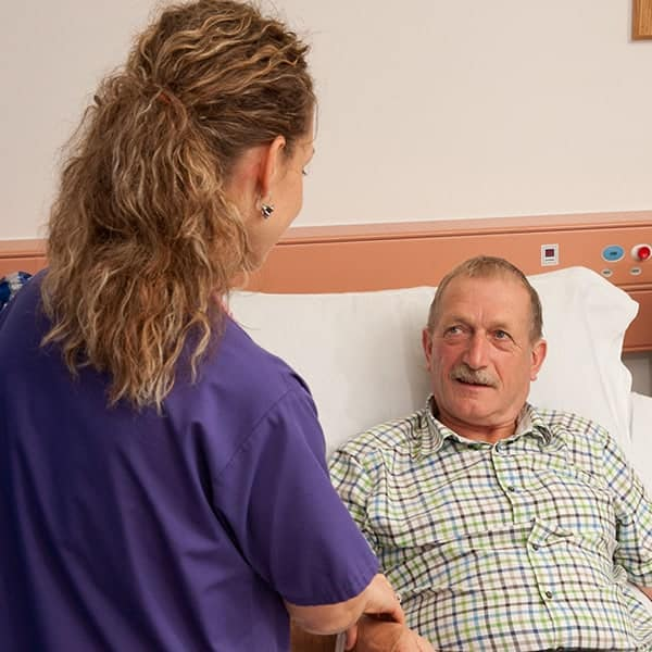 Are you feeling anxious about hospital treatment?